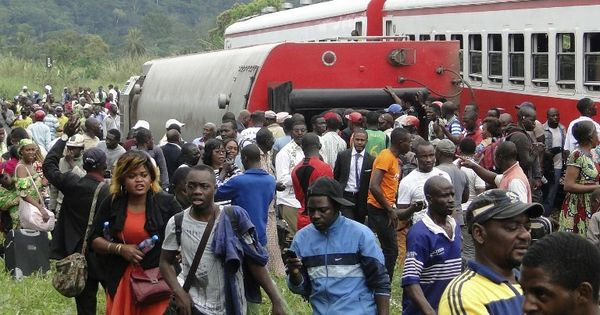 At least 55 killed, nearly 600 injured after train derails in Cameroon