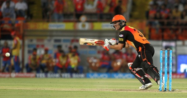 IPL: David Warner's 93 not out takes Hyderabad to four-wicket win over Gujarat and into final