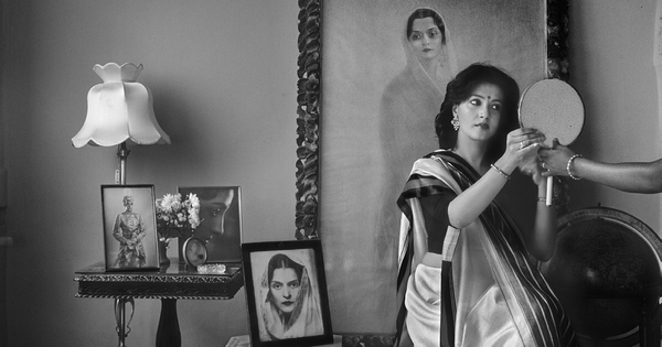 Film personalities glitter in black and white through Raghu Rai's lens