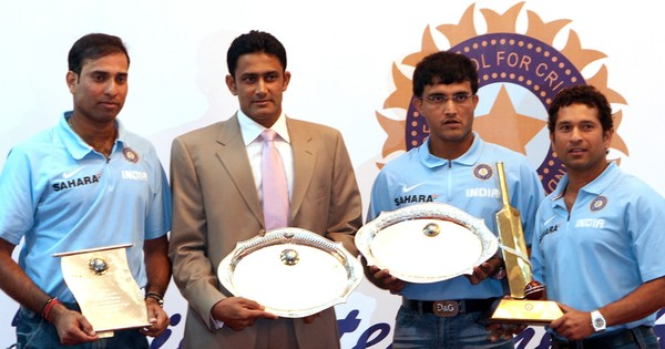 Dear Sachin, Sourav and VVS, care to explain why Anil Kumble was such a no-brainer for head coach?