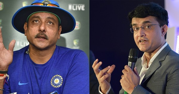 Dear Ravi Shastri and Sourav Ganguly, for the sake of Indian cricket, please grow up
