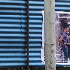 Meet the artist who has riled up Mumbai with posters of kissing couples