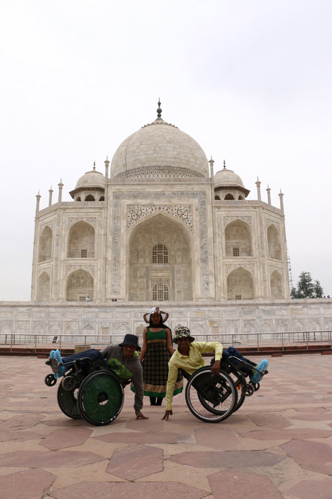 At several heritage monuments, wheelchair accessibility is a big problem especially in toilets. The Taj Mahal has slightly better facilities than others, said Neha Arora of Planet Abled. (Photo courtesy: Planet Abled)