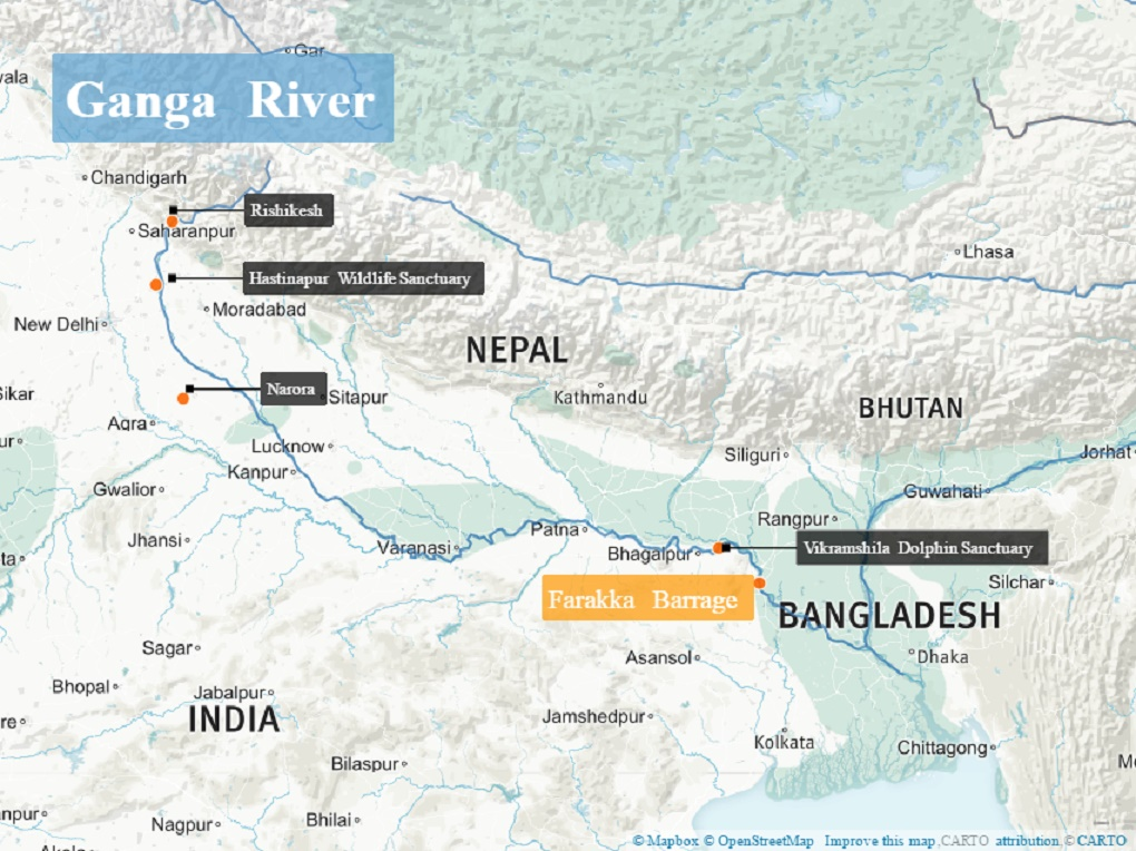 Ganga biodeversity [image by Beth Walker]