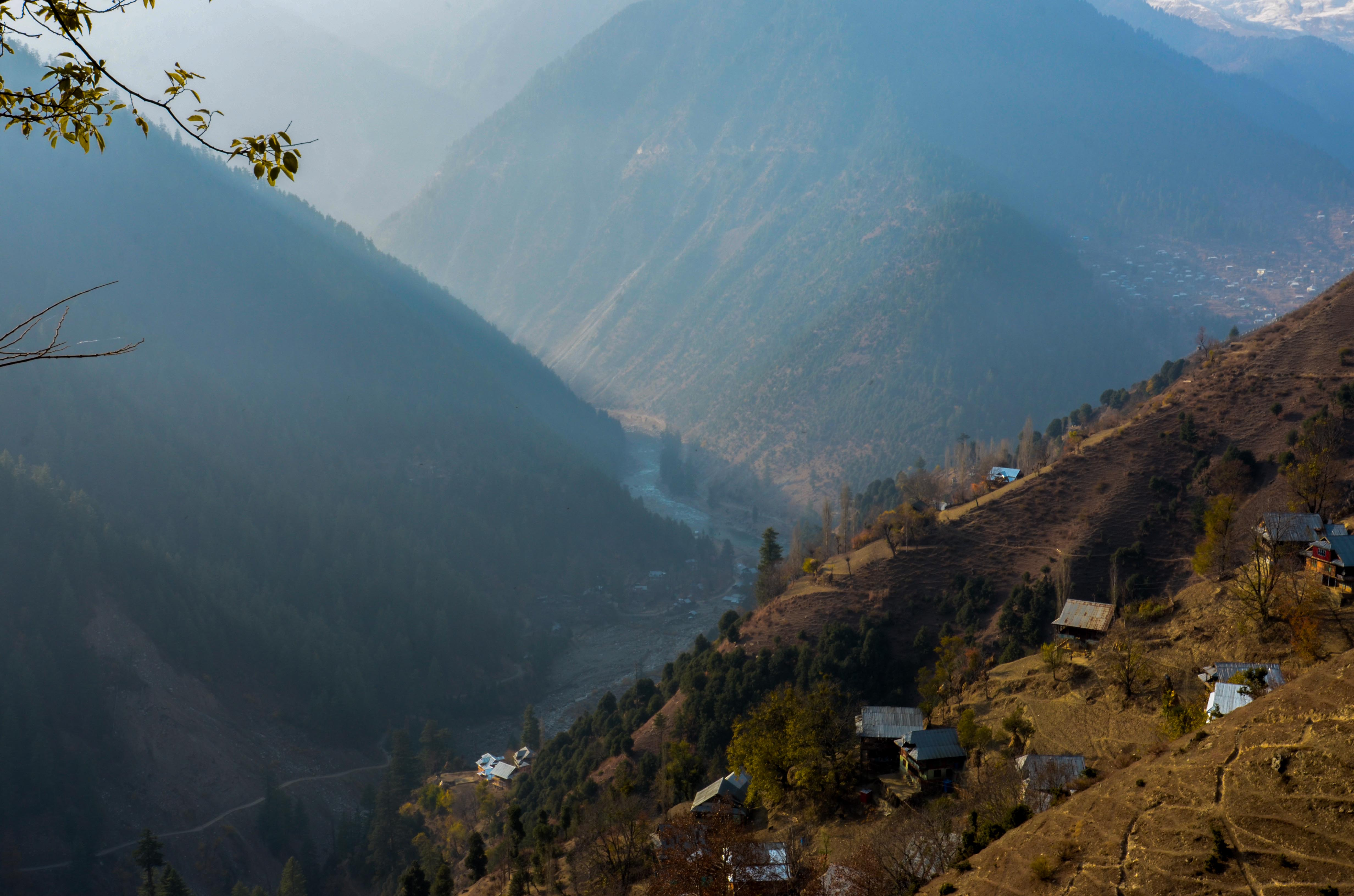 Villages in Keran sector are a stone's throw from the Line of Control and the Neelum river.