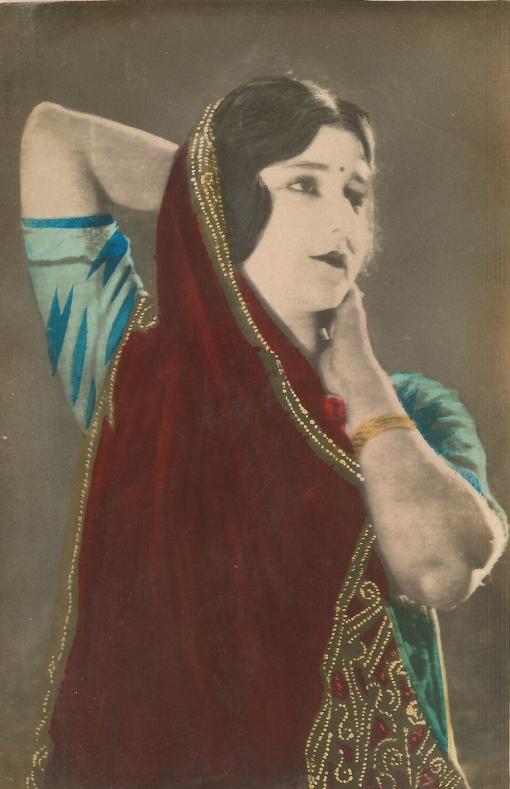 Silent cinema star Sulochana.