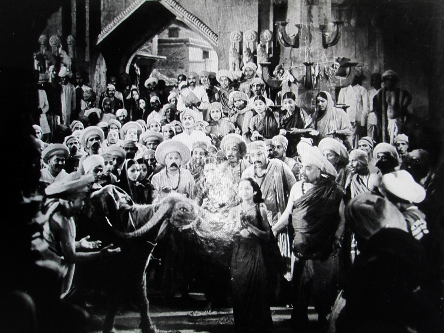 'Sant Dyanenshwar' (1940) by VG Damle and S Fatehlal. Courtesy Sahapedia.org.