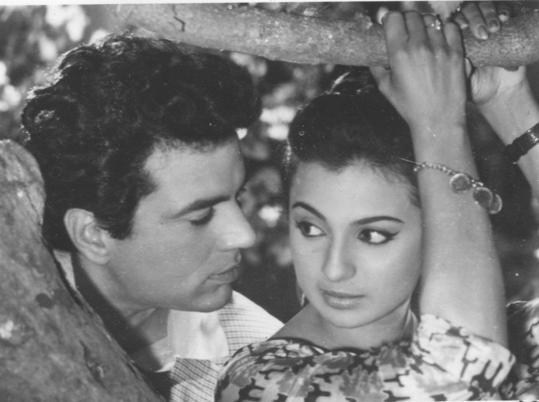 Dharmendra and Tanuja.