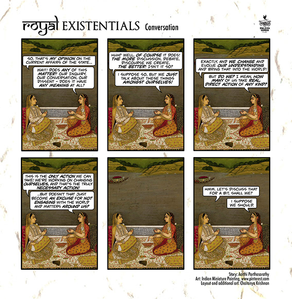 Royal Existentialists by Aarthi Parthasarathy