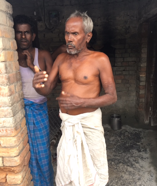 Joginder Bhagat was treated for Kala Azar this April and received compensation of Rs 6,600. Photo: Menaka Rao.