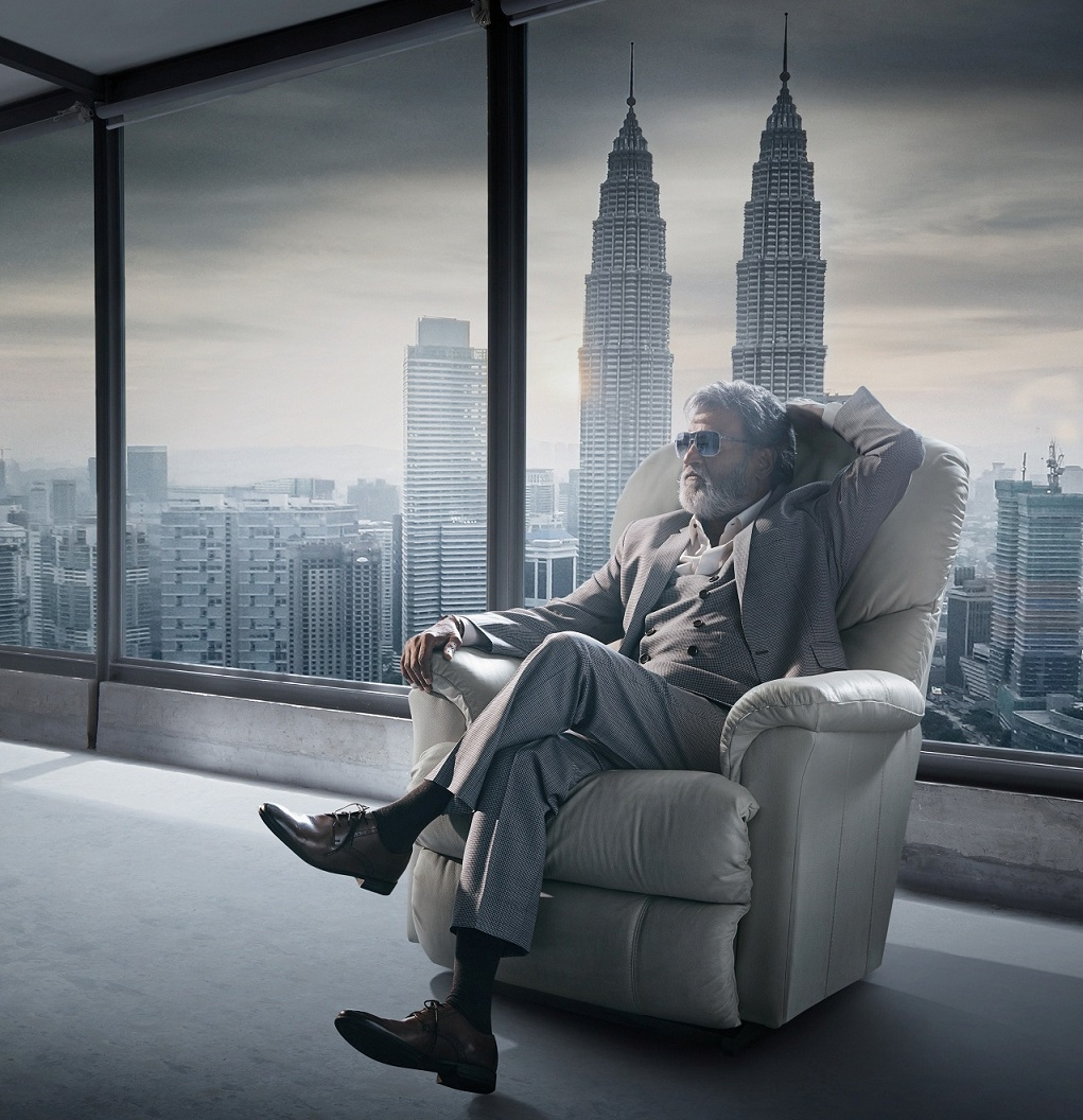 Rajinikanth in 'Kabali'.
