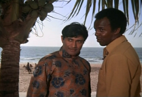 Dev Anand and Rod Stevens.
