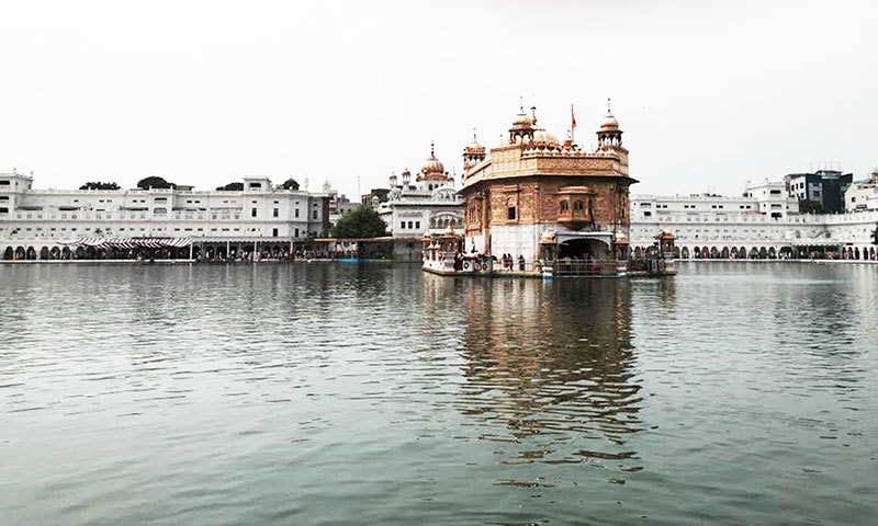 The Harmandir Sahib popularly known as the Golden Temple in Amritsar. Photo by Fatema Imani.