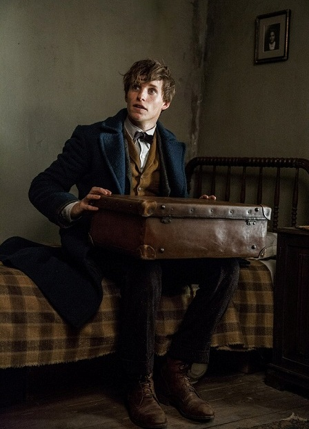 Eddie Redmayne in 'Fantastic Beasts and Where to Find Them'. Courtesy Warner Bros.