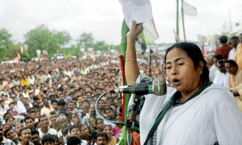 Mamata Banerjee re-elected as Trinmool Congress chairperson