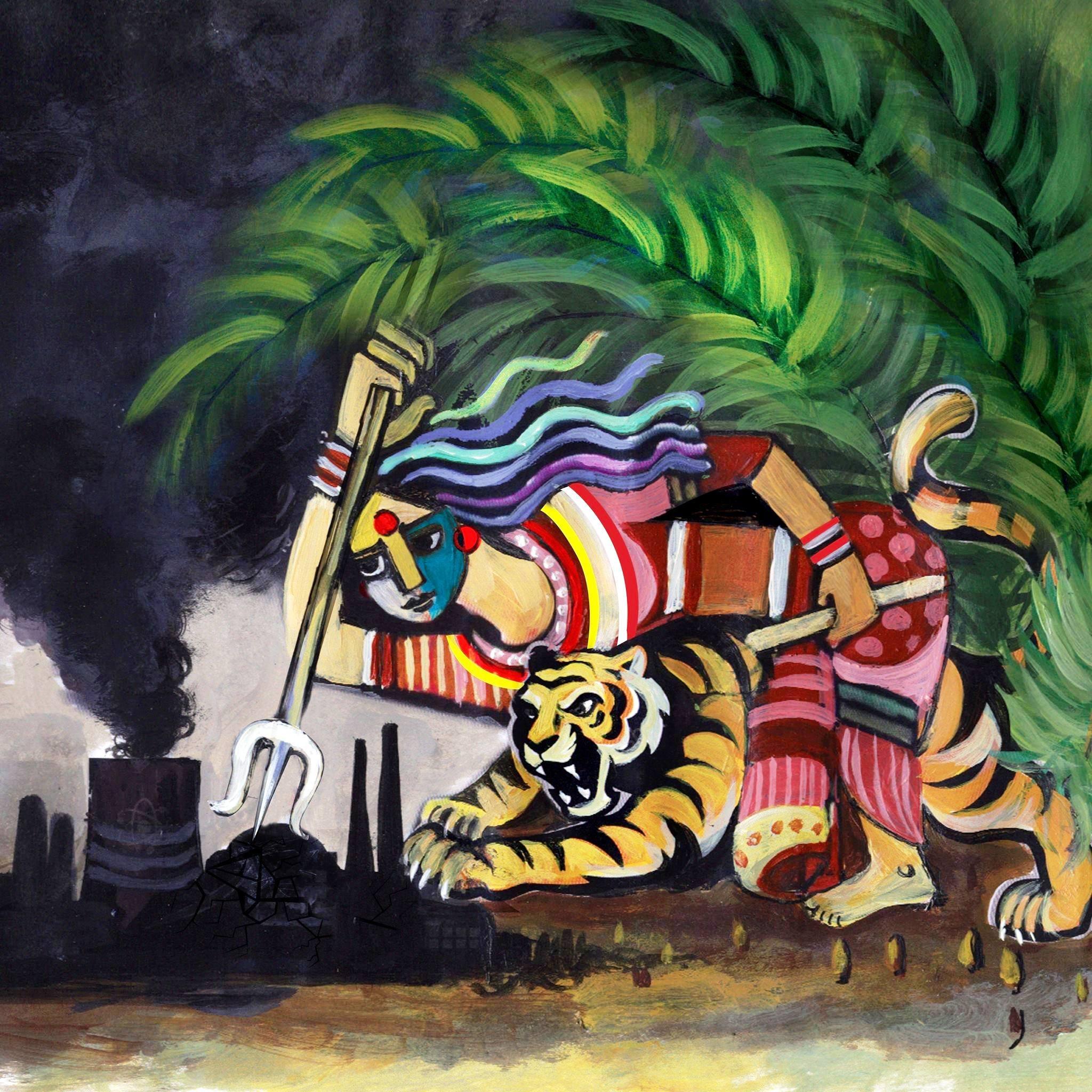 An artwork by Mita Mehedi.