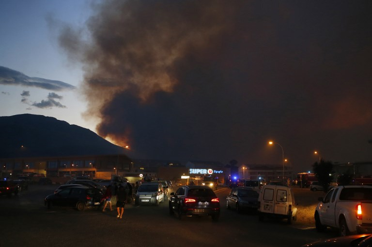 Wildfires ravage parts of the Riviera and Corsica