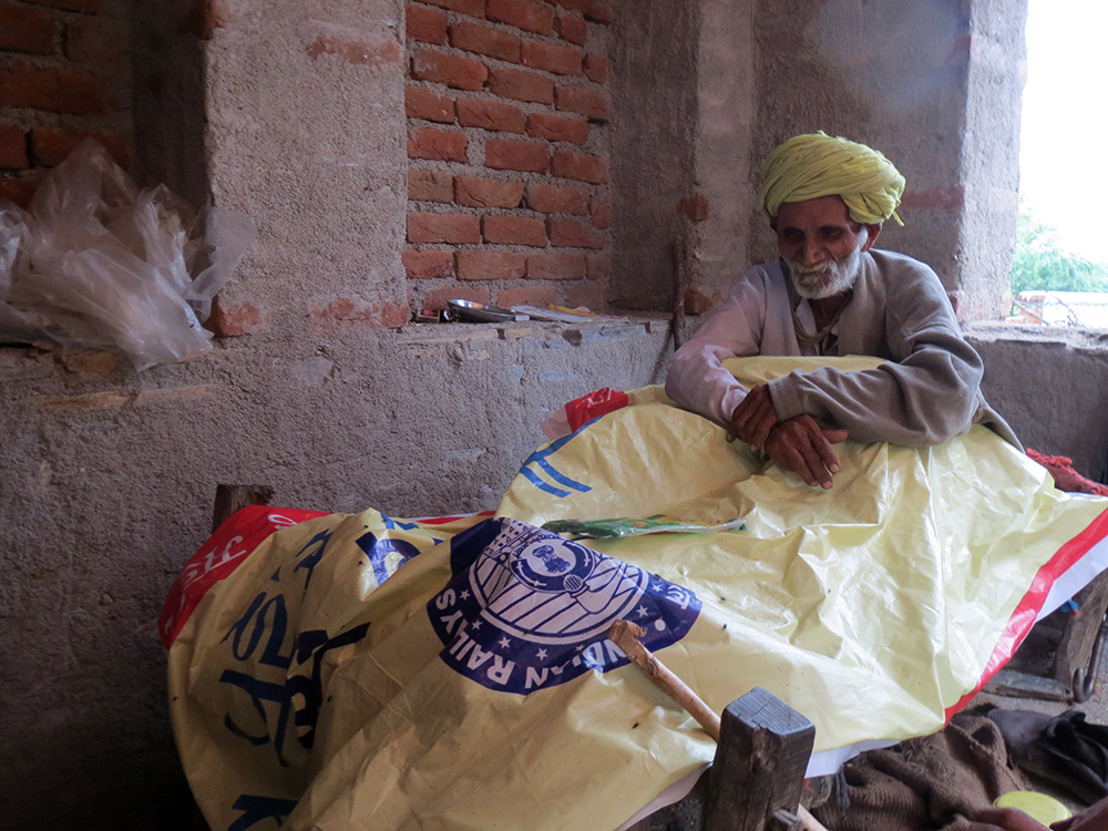 Hazaari Singh found out that his pension of Rs 750 a month, his only income, was being wrongly credited into someone else's bank account in another village because of seeding errors. It is yet to be restored.