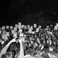 Photos and video: Protests mount in solidarity with JNU as seven more students are detained