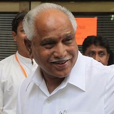 Congress-mukt Bharat? A 'clean' Yeddyurappa could evict the party from the last big state it rules
