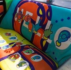 Watch: Taxi Fabric adds social messages to its beautiful custom-designed interiors for  Mumbai cabs
