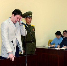 As US tightens sanctions, North Korea sends American student to 15 years of hard labour