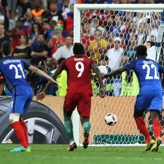Portugal shrug off Cristiano Ronaldo injury to upset France 1-0 and win Euro 2016