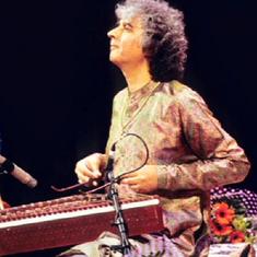 A conversation between santoor, tabla in this performance by Shivkumar Sharma and Zakir Hussain