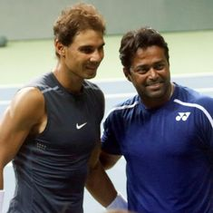 Rafael Nadal hails Leander Paes as 'one of the best players in the history of tennis'