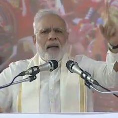 Sounding nothing like Gujarat CM, Narendra Modi asks Pakistan to declare war – on poverty