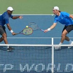 Leander Paes and Andre Begemann throw away advantage to go down in final of St Petersburg Open