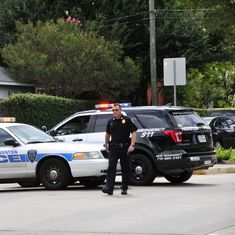 Free pizza and shattered panes: Nathan DeSai's neighbours struggle to make sense of Houston shooting