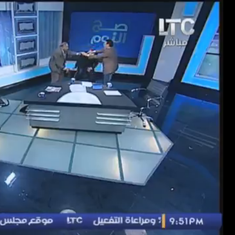 'You're an apostate! You're an infidel':  Guests come to blows on Egyptian TV (looks familiar?)