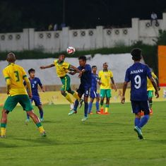 BRICS U-17 football: South Africa eke out 1-0 win against India