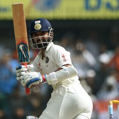 Ajinkya Rahane proves again that he is India's man for all conditions and seasons