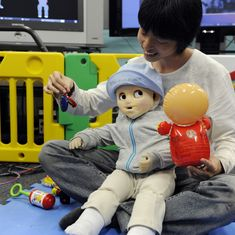 Robot babies from Japan raise many questions about how parents bond with Artificial Intelligence