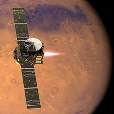 European Space Agency's Schiaparelli Mars lander feared lost during touchdown