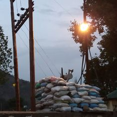 To guard themselves against security forces, Kashmir towns are fortifying their transformers