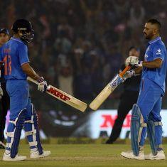 3rd ODI: Against the backdrop of Virat Kohli's brilliance, MS Dhoni has finally found his spot