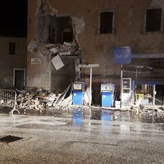 Two strong earthquakes strike Central Italy hours apart