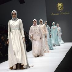 The appearance of the hijab on runways is not just a fashion statement but also a political one