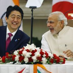 As Modi prepares to meet Abe in Tokyo, there's already a Trump in the tale