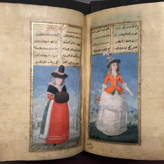 How Ottoman Turks depicted women of India and other parts of the world