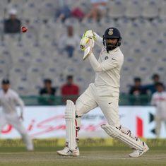 India's biggest gain from Mohali was the evolution of Ravindra Jadeja as a Test batsman