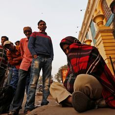 A morning spent in a queue to withdraw cash is a day without earning a wage, say factory workers