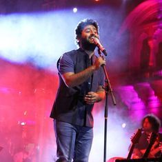 Is Arijit Singh the singer at odds with Arijit Singh the star?