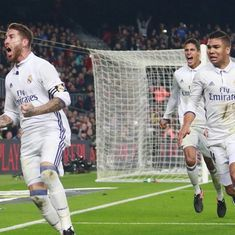 Video: Sergio Ramos's bullet header stood out in an otherwise boring El Clasico