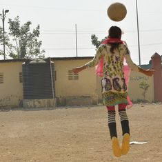 Teenage girls, football and freedom in documentary 'Under the Open Sky'