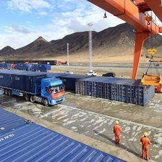 भारत की चिंता और नेपाल से व्यापार बढ़ाने के लिए चीन ने तिब्बत के रास्ते नई कार्गो सेवा शुरू की