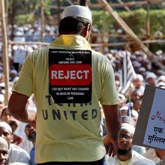 Warring Muslim groups in Kerala have joined forces to fight the government on Uniform Civil Code
